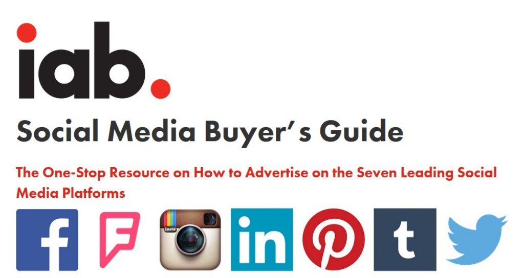 IAB Social Media Buyer's Guide
